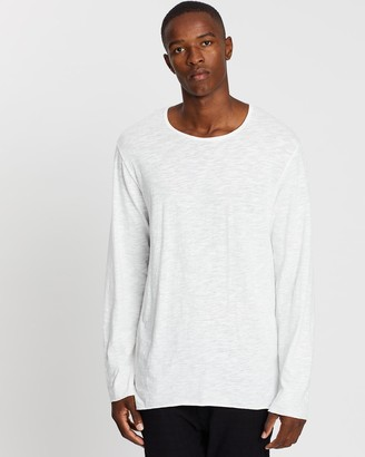 Surrounded By Ghosts The Trona Long Sleeve Cotton Tail T-Shirt