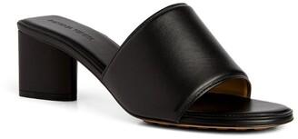 Bottega Veneta Leather The Band Sandal Mules 55