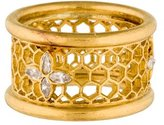 Cathy Waterman Honeycomb Diamond Ring