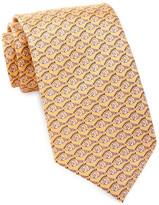 Tailorbyrd Tropical Fish Silk Tie