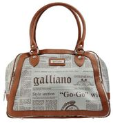 Galliano Large fabric bag