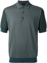 Lanvin knitted polo shirt - men - Cotton/Wool - M
