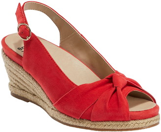 Red Peep Toe Wedges   Shop the world's