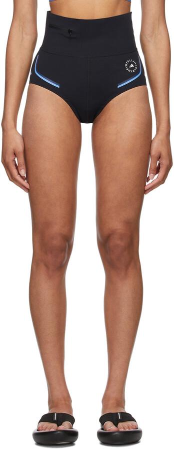 Thumbnail for your product : adidas by Stella McCartney Black Beachdefender Bikini Bottom Shorts