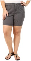 Jag Jeans Plus Size Somerset Relaxed Fit Shorts in Bay Twill