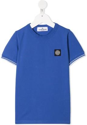 Stone Island Junior chest logo T-shirt