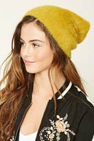 Forever 21 Faux Mohair Knit Beanie