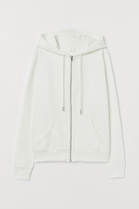 H&M Hooded Jacket - White