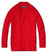 Tommy Hilfiger Big Girl's Th Kids Open Cardigan