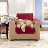 Sure Fit Deluxe Pet Cover - Chair Slipcover - Burgundy (SF39456)