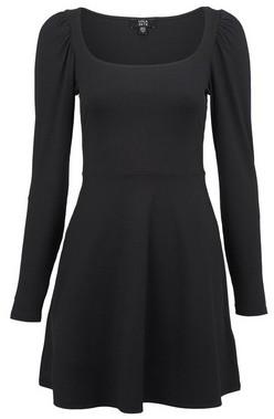 Dorothy Perkins Womens **Lola Skye Black Skater Dress, Black