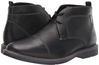 Nunn Bush Pasadena Cap Toe Chukka (Black) Men's Shoes