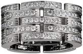 Cartier White Gold and Diamond Maillon Panthére 5 Row Ring