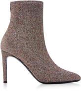 Giuseppe Zanotti Natalie Stretch-Knit Ankle Boots