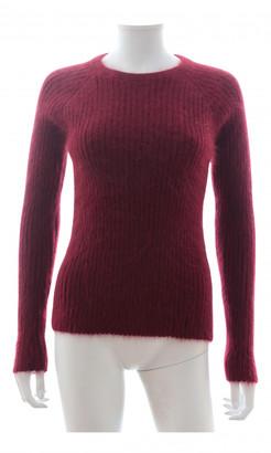 J.W.Anderson Burgundy Wool Knitwear