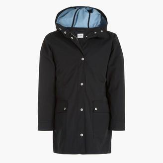 J.Crew Midi-length raincoat with snaps