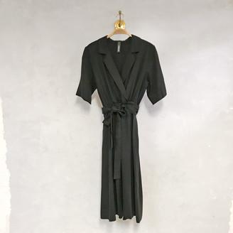 Liebling Malmo - Bjork Charcoal Tencel Dress - XS - Grey/Black