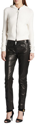 Tom Ford Cashmere Jacket with Leather Elbow Patches