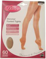 Silky Womens/Ladies Dance Shimmer Full Foot Tights (1 Pair)