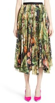 ADAM by Adam Lippes Women's Print Cotton Voile Pleated Skirt