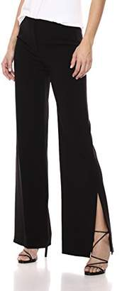 Theory Women's Wide Leg High Slit Pant