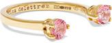Delfina Delettrez 9-karat Gold Topaz Phalanx Ring - one size