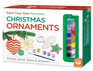 Your Own Paint Christmas Ornaments - Craft Kit