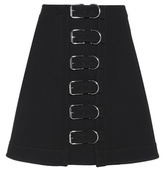 Carven Wool A-line skirt