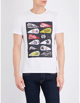 Replay Motorcycle-graphic Cotton-jersey T-shirt