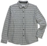 Sovereign Code Soverign Code Boys' Seaside Striped Flannel Shirt - Sizes S-XL