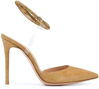 Gianvito Rossi Pointed Heel Pumps