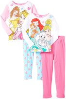 Disney Princess Royal Party 4-Piece PJ Set (Kid) - Multicolor-8