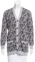 Julien David Printed Button-Up Cardigan w/ Tags