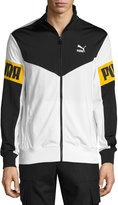 Puma Paneled Track Jacket, White