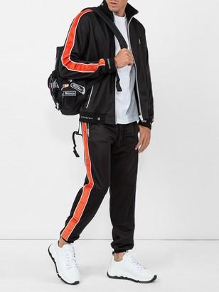 Givenchy Elasticated Waist Trousers Black/orange