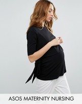 ASOS Maternity - Nursing ASOS Maternity NURSING Tie Side T-Shirt