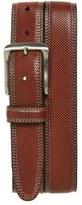 Johnston & Murphy Textured Leather Belt