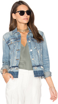 J Brand Deena Released Hem Jacket