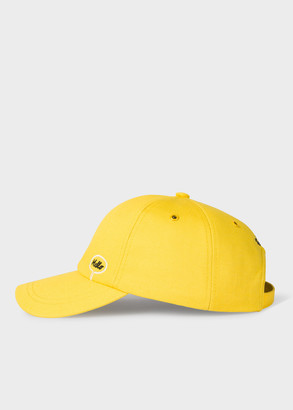 Paul Smith + Christoph Niemann - Yellow 'Hello Goodbye' Embroidered Cotton Baseball Cap