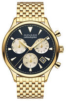 Movado Heritage Stainless Steel Chronograph Watch