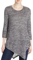 Cupio Asymmetric Tunic Sweater