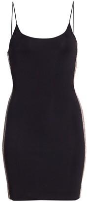 Alice + Olivia Noni Embellished Mini Bodycon Dress
