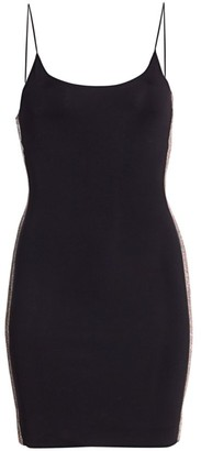 Alice + Olivia Noni Embellished Mini Bodycon Dress