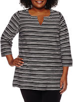 Liz Claiborne Tunic Top-Plus