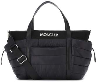 Moncler Enfant Baby quilted changing bag