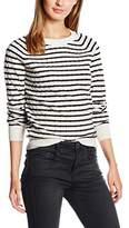 Levi's Women's SLIM CREW SWEATER Sweatshirt, Multicoloured (LATTICE CABLE SNOWFLAKE BLACK)