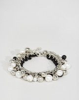 Lipsy Disc And Bead Bracelet