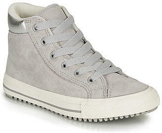 Converse CHUCK TAYLOR ALL STAR PC BOOT HI girls's Shoes (High-top Trainers) in Grey