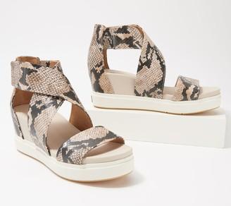 Dr. Scholl's Adjustable Wedge Sandals - Sheena