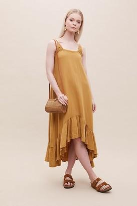 Beaumont Organic Belmira Ruffled-Hem Dress